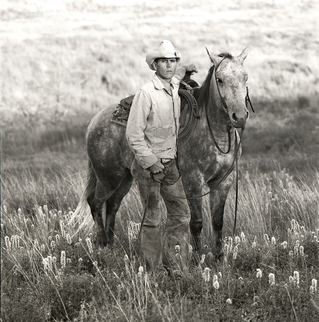 , 'Mike McClelland, Cowboy, J.R. Green Cattle Company Shackelford County, Texas, April 17, 1990 ,' , Gail Severn Gallery