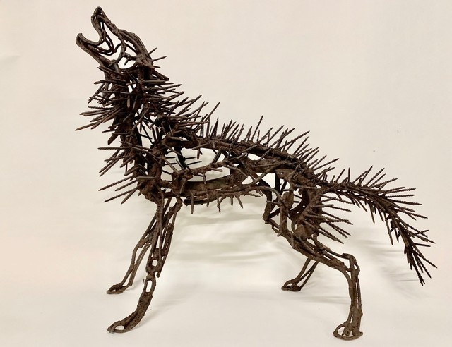 Wendy Klemperer, 'Howling Naildog', 1999, Visions West Contemporary