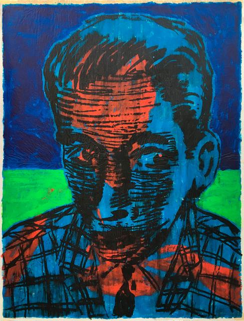 , 'Mr. Lahzar,' 90s, Galerie Zwart Huis