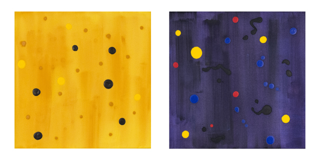 , 'Starry Night Yellow and Dark Energy,' 2002, Oeno Gallery