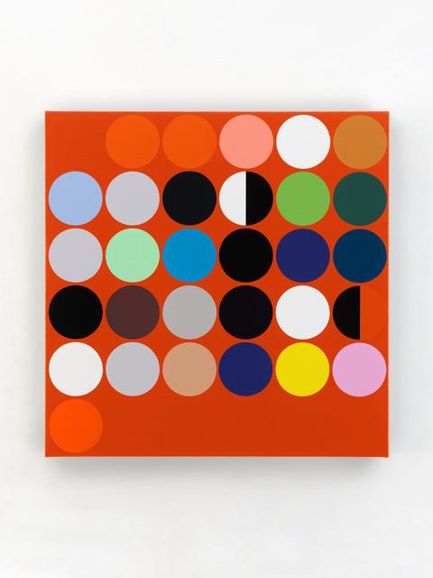 "Sarah Morris, '""November 2020""', 2020, Painting, Household gloss paint on canvas, White Cube"