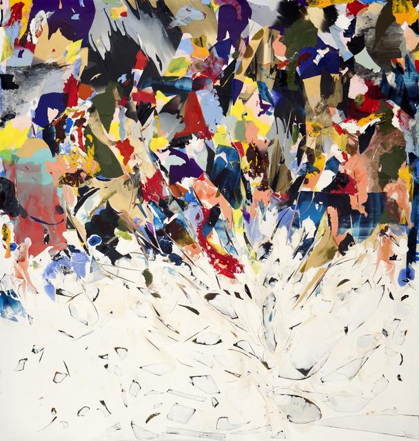 , 'Push,' 2017, Nancy Hoffman Gallery