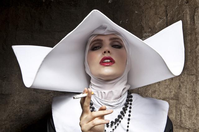 , 'Smoking Nun, Cinecittà, Italy,' 2012, Taylor | Graham