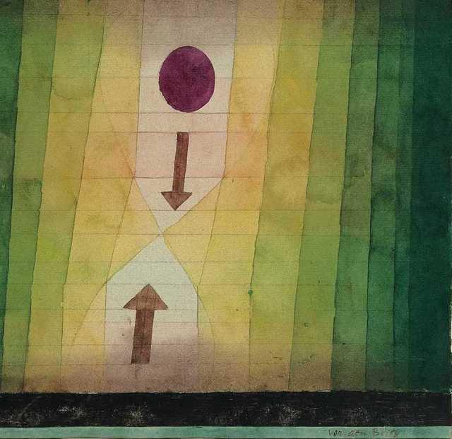 Paul Klee, 'vor dem Blitz (Before the Lightning)', 1923, Fondation Beyeler