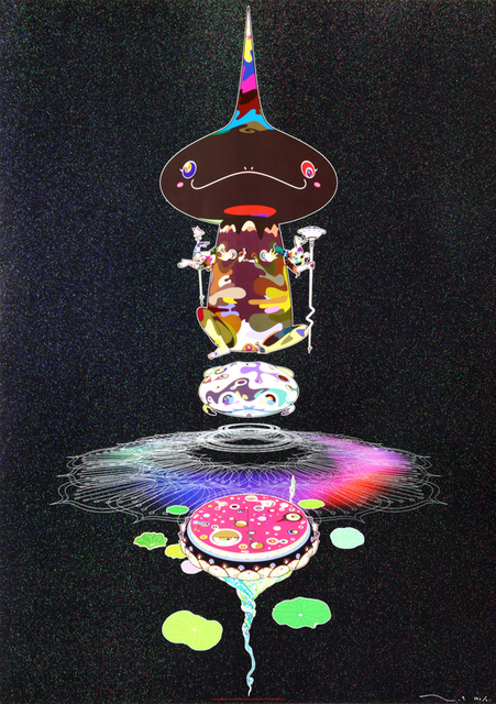 Takashi Murakami, 'Reversed Double Helix – Black Head, Brown Body', 2005, MSP Modern