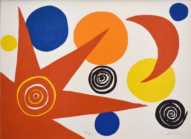 Alexander Calder, 'Composition IV, from The Elementary Memory | La mémoire élémentaire', 1976, Gilden's Art Gallery