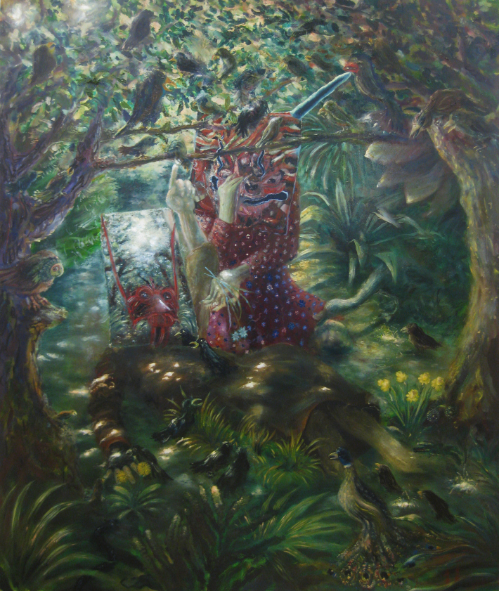 'Come Perle ai Porci' by Thomas Braida for the solo exhibition 'Toads Swallow Fireflies, the Gods Eat Everything'.