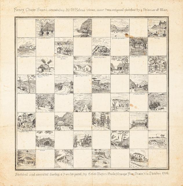 Erich Mayer, 'Chessboard', 1900, Strauss & Co