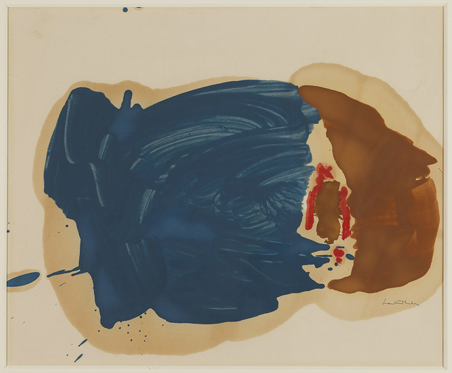 , 'Untitled,' 1961-1962, Helen Frankenthaler Foundation