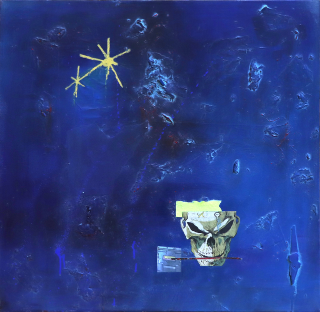 Neil Maguire, 'Who Arises From the Great Blue', 2020, Painting, Acrylic and oil painting with mixed media, Corkin Gallery