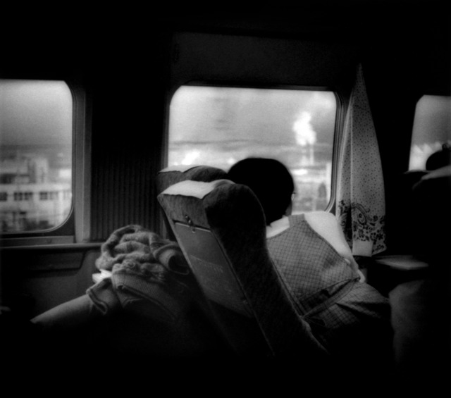 , 'Gazing out from Shinkansen Bullet Train, Shizuoka Prefecture, Japan,' 2001, Sous Les Etoiles Gallery