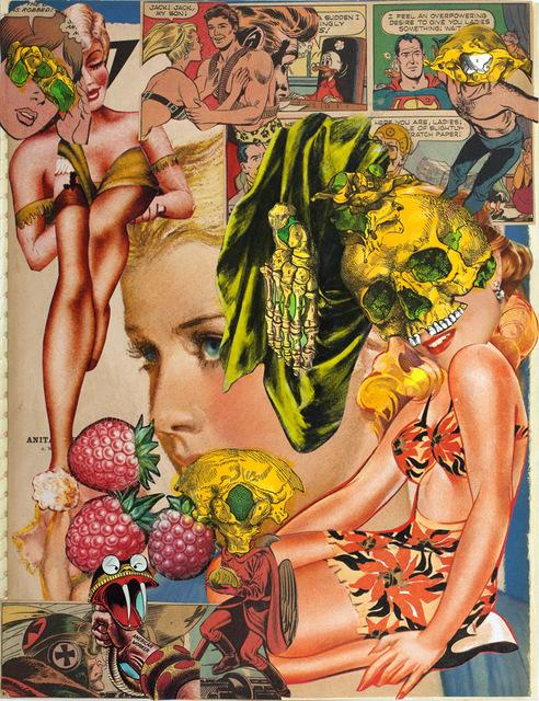 , 'Untitled (Collage Book 5_04),' c. 1970, Corbett vs. Dempsey