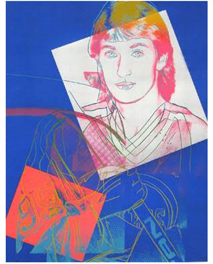 Andy Warhol, 'Wayne Gretzky #99', 1984, Robin Rile Fine Art