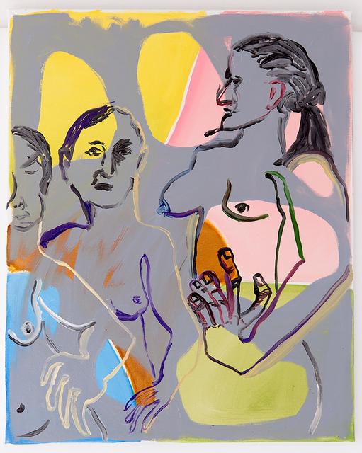 , 'Untitled (three women),' 2017, MARTOS GALLERY
