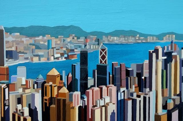 , 'Hong Kong Skyline III,' 2016, Cynthia Corbett Gallery