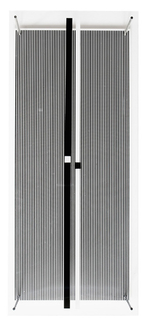 Jesús Rafael Soto, 'Permutacion - Serie Síntesis', 1979, Mixed Media, Screenprint on Plexiglass, metal bars, Galería RGR