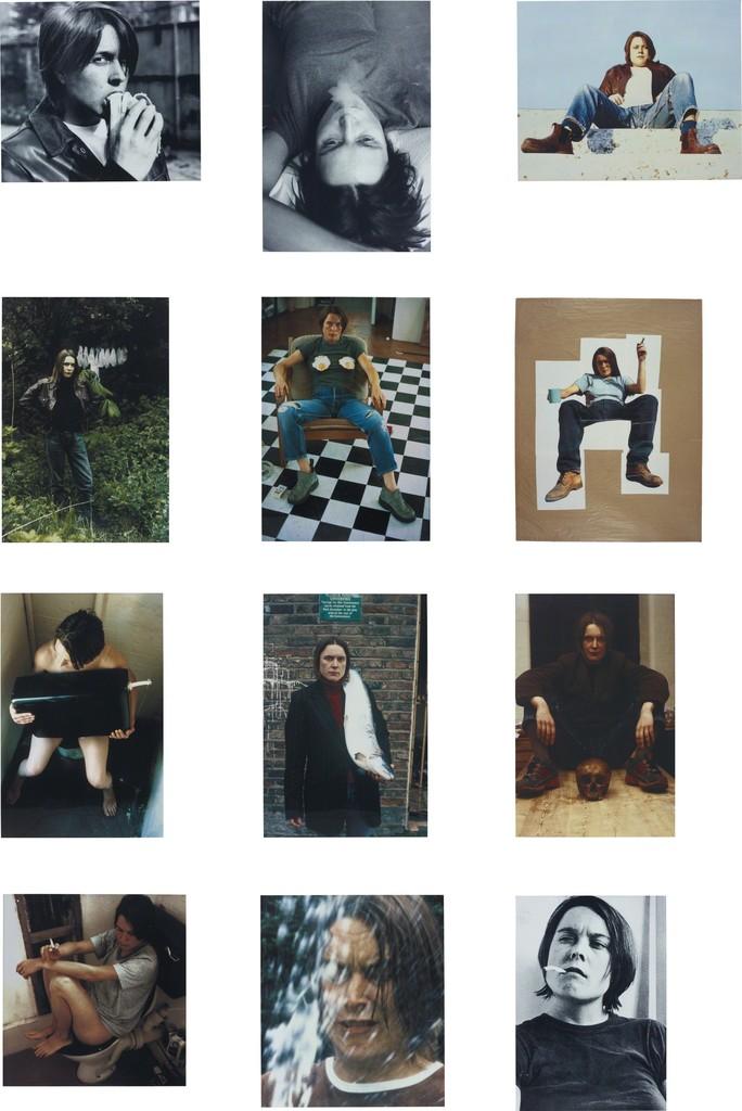 Self Portraits 1990-1998 (complete portfolio of 12 works)