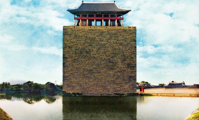 Sangbin Im, 'Kyung Bok Palace 2 ', 2006, Vivian Choi Gallery