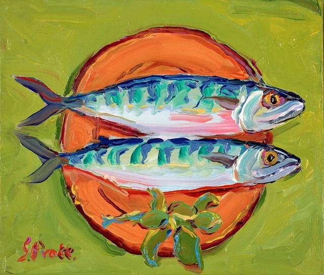 , 'Mackerel for Supper,' 2018, Clarendon Fine Art