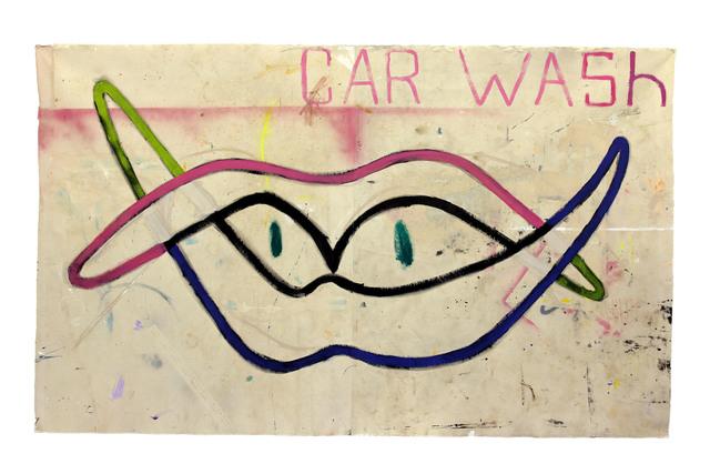 Richard Mason, 'CAR WASH', 2019, Painting, Acrylic on canvas, 99 Loop Gallery