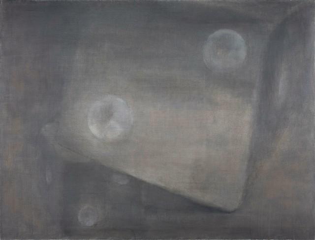 , 'Gray Dice,' 2015, Aye Gallery