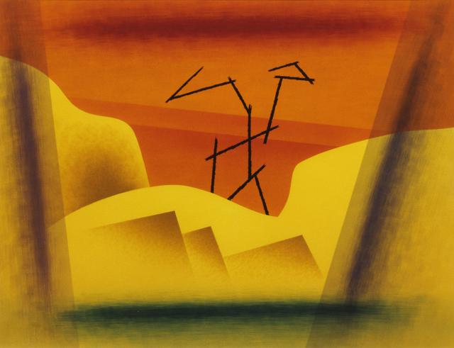 , 'Watercolor No. 17,' 1950, Addison Rowe Gallery