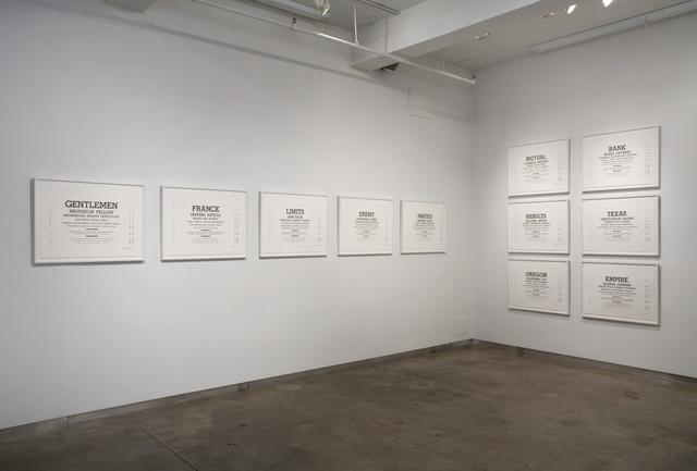 R. Luke DuBois, 'Hindsight is Always 20/20', 2008, bitforms gallery