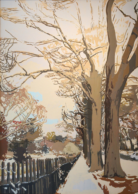 , 'The Last Snow of Spring,' 1980, C. Grimaldis Gallery