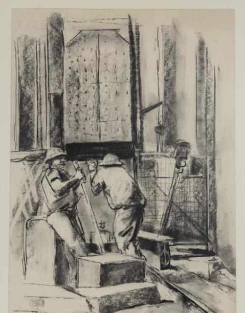 Durant Sihlali, 'Miners III', 1975, Gallery MOMO