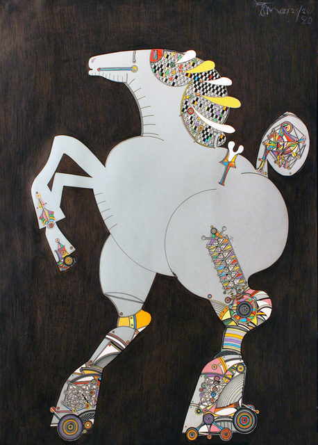 , 'Toy Horse 157 (#12178),' 1980, Wallace Galleries