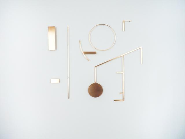 , 'Sections of Global Map (Buckminster Fuller),' 2018, Kristin Hjellegjerde Gallery