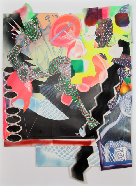 Frank Stella, 'Michael Kohlhaas panel #1', 1999, Bernard Jacobson Gallery