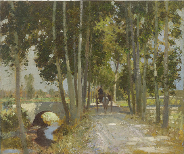 , 'A Road in Italy,' , Portland Gallery