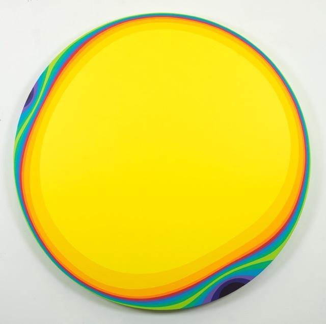 , 'Yellow Rainbow,' 2019, Samuel Owen Gallery