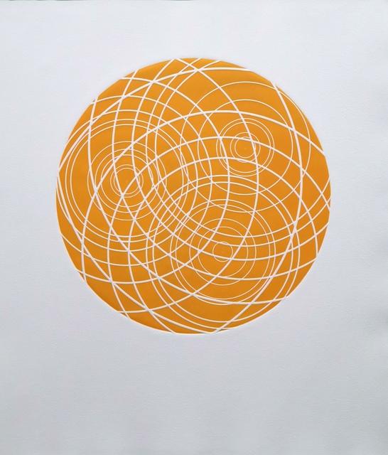 Kevin Osmond, 'Ripples (Marigold Orange)', 2019, Dominik Mersch Gallery