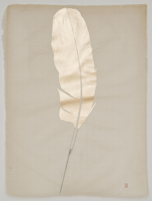 , 'Gold Feather,' 2012, Jason McCoy Gallery