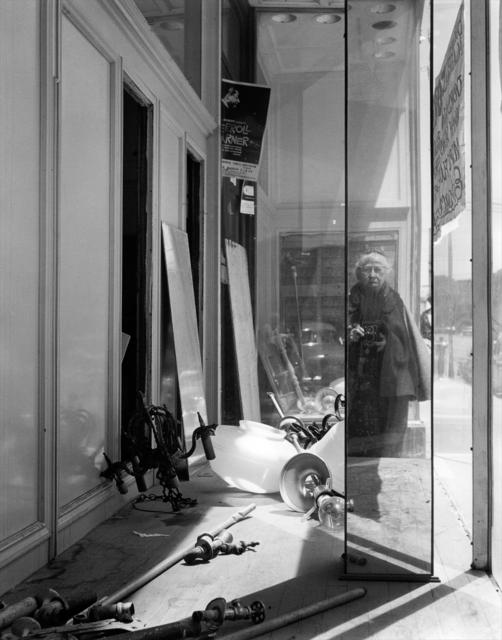 , 'Self Portrait on Geary Street, 1958,' 1990, Ryan Gallery