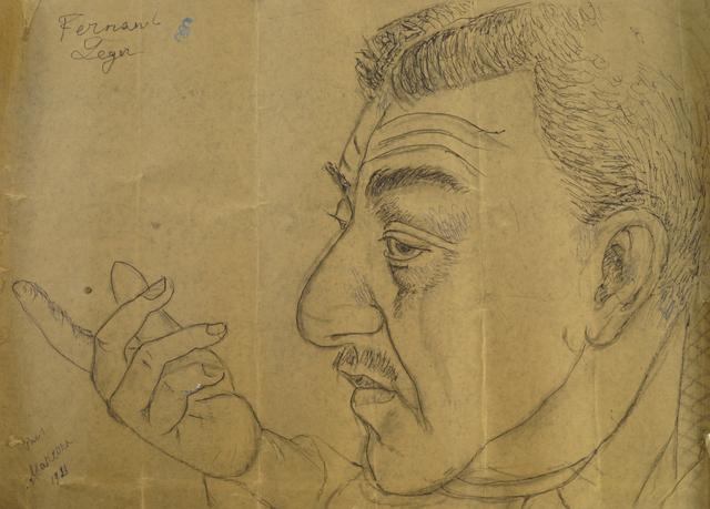 Marie Vorobieff Marevna, ''Fernand Henri Léger, Paris, 1916'', Roseberys