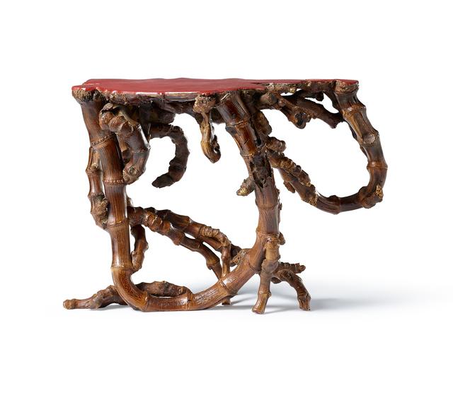 , 'A BAMBOO ROOT INCENSE STAND,' , Maria Kiang Chinese Art