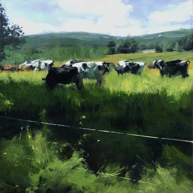 , 'Berkshire Pasture,' 2018, Alpha Gallery