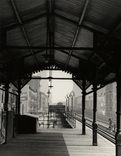 Todd Webb, 'Canal St. El Station, New York', 1946, Etherton Gallery