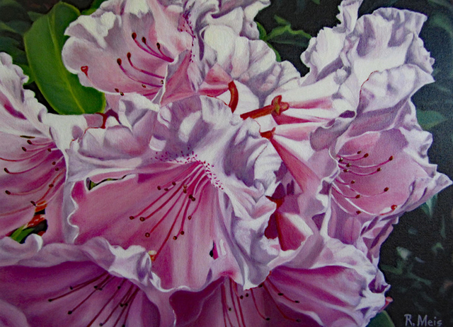 , 'Oregon Rhododendron,' 2014, Light Space & Time