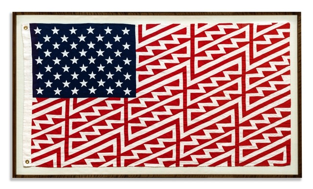 FAILE, 'Star Spangled Shadows - B2551', 2016, The Garage Amsterdam