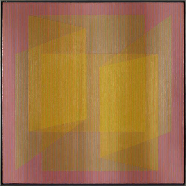 , 'Unfolding Yellow,' 1968, WOLFS