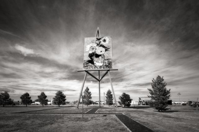 , 'World's Largest Easel, Goodland, Kansas,' , Soho Photo Gallery