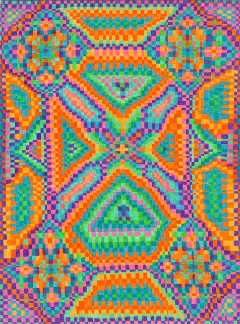 , 'Grid Drawing September 13, 2014,' 2014, Asya Geisberg Gallery