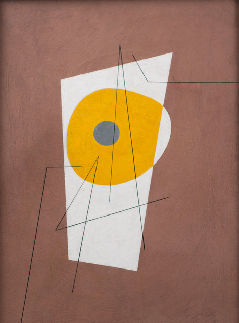 , 'Composition in Brown, Yellow and White,' 1939, Weinstein Gallery