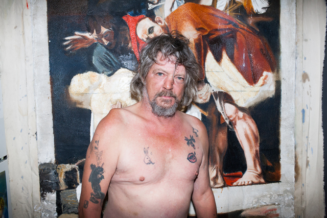 , 'Jimmy In My Kitchen, After Nick Bierk & Caravaggio, September 24, 2013,' 2014, AC Repair Co.