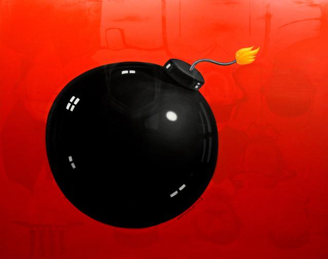 Shen Jingdong, 'Up side down bomb', 2014, Galerie Dock Sud
