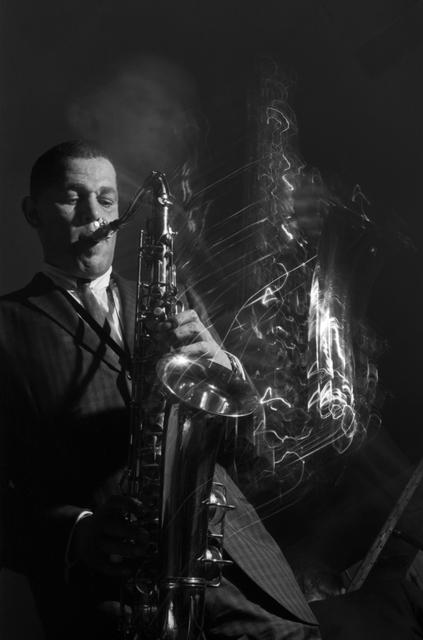 , 'Dexter Gordon with Squiggles, Ronnie Scott's Jazz Club, London,' 1962, Gallery Vassie